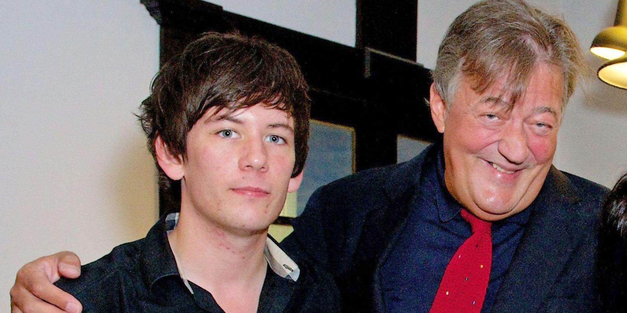 Jake Elliott Actor >> Stephen Fry To Marry His 27-Year-Old Partner Elliott Spencer | HuffPost UK