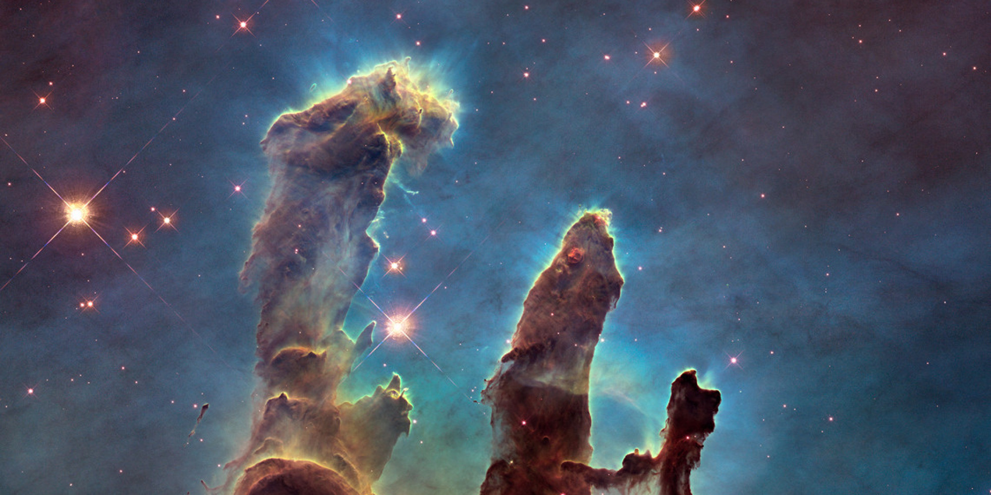 hubble backgrounds pillars of creation - photo #6