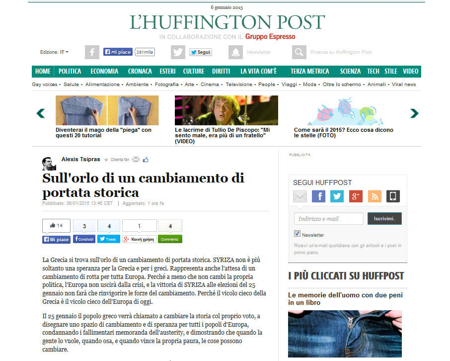 huffpost italy