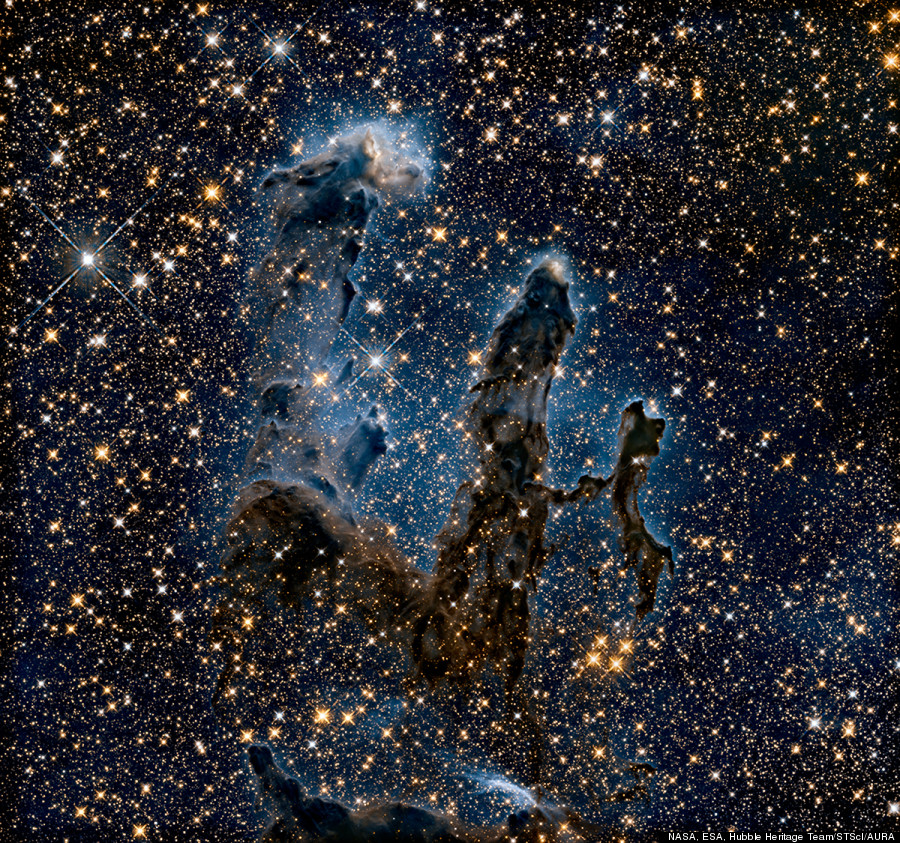 eagle nebula infrared
