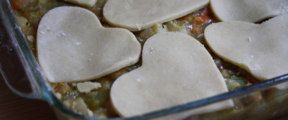 VEGETARIAN VALENTINES POT PIE