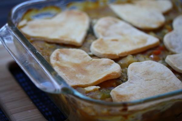 Vegetarian Valentine's Pot Pie | HuffPost