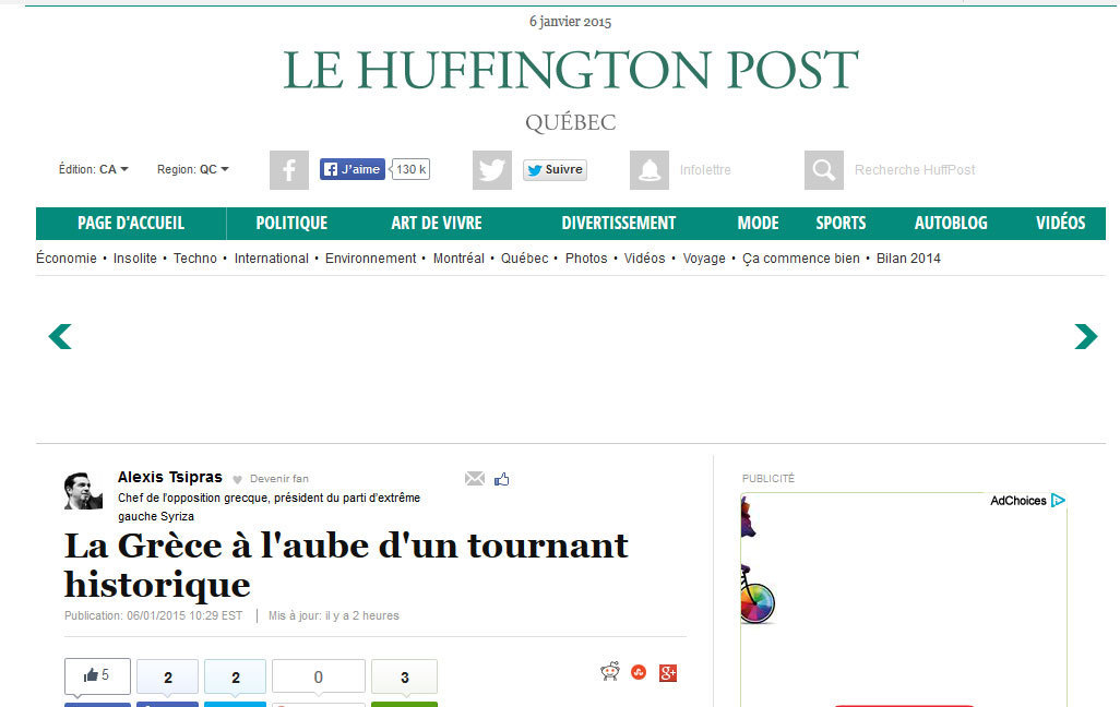 huffpost quebec