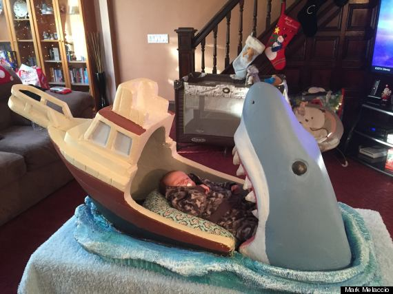 Jaws Themed Baby Crib Takes A Giant Bite Out Of The