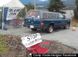 Kinder Morgan Pipeline Protesters Set Up New Camp