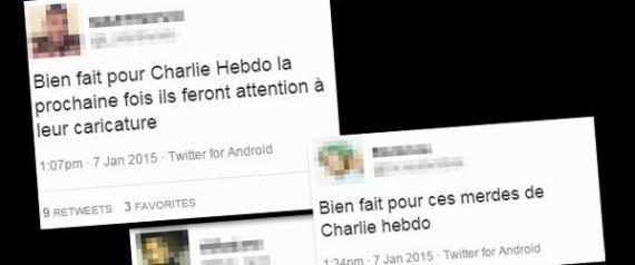BIEN FAIT TWEETS CHARLIE HEBDO