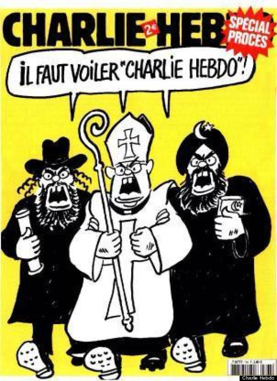 These Are The Charlie Hebdo Cartoons That Terrorists Thought Were