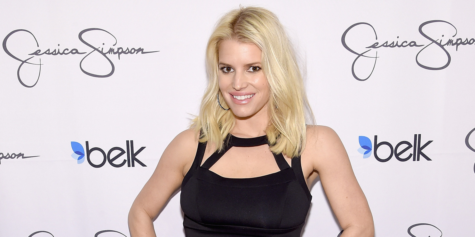 Stupendous Jessica Simpson Refused To Let The Fat Shamers Bring Her Down Easy Diy Christmas Decorations Tissureus