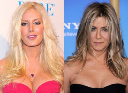 Heidi Montag Jennifer Aniston