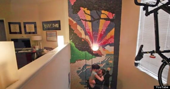 time lapse mural