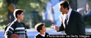 PARENTS DISCIPLINE KIDS