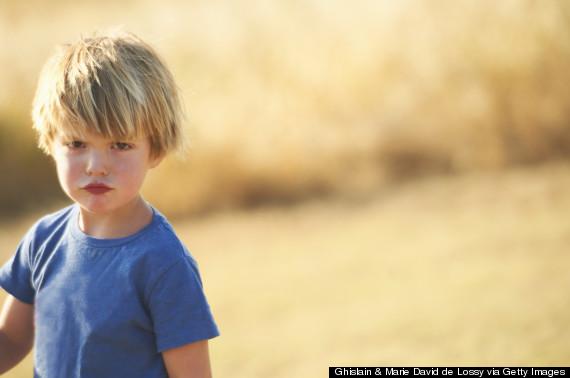 kid angry