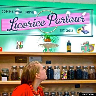 commercial drive licorice parlour
