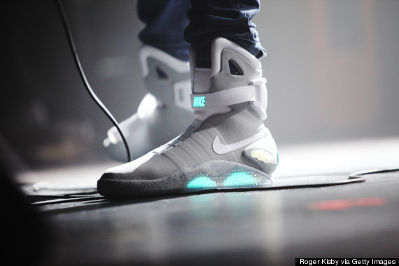 back to future nike trainers