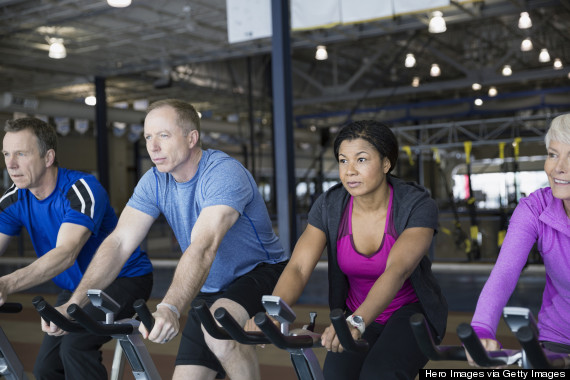 black woman gym