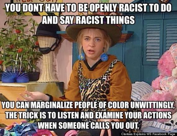 openly racist
