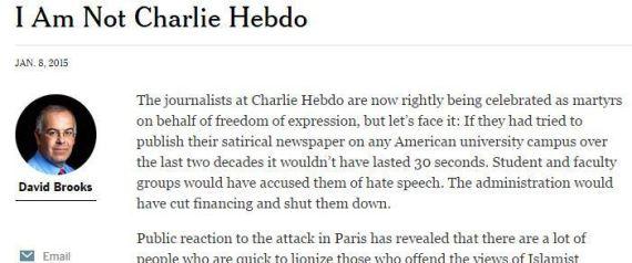 NEW YORK TIMES CHARLIE HEBDO