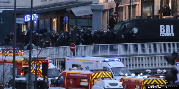 Gunman Kills 4 In Kosher Market Attack In Paris