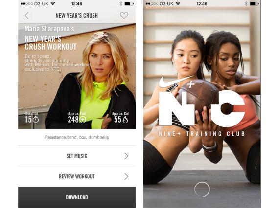 nike training app