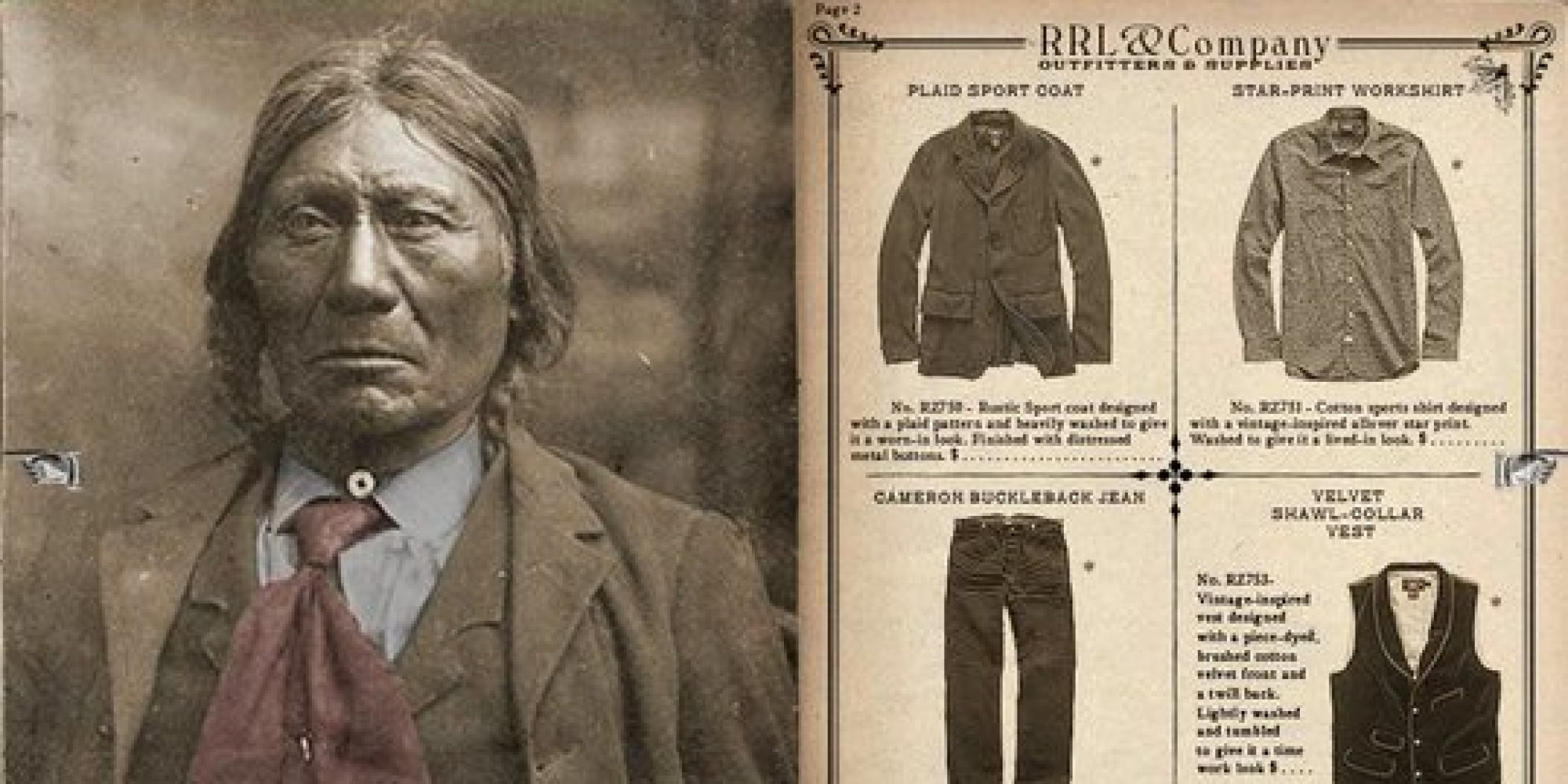 Ralph Lauren\u0026#39;s Native American Ads Reveal Sad Truth About The Fashion World | The Huffington Post