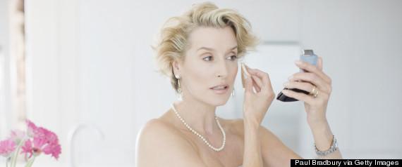 mature makeup