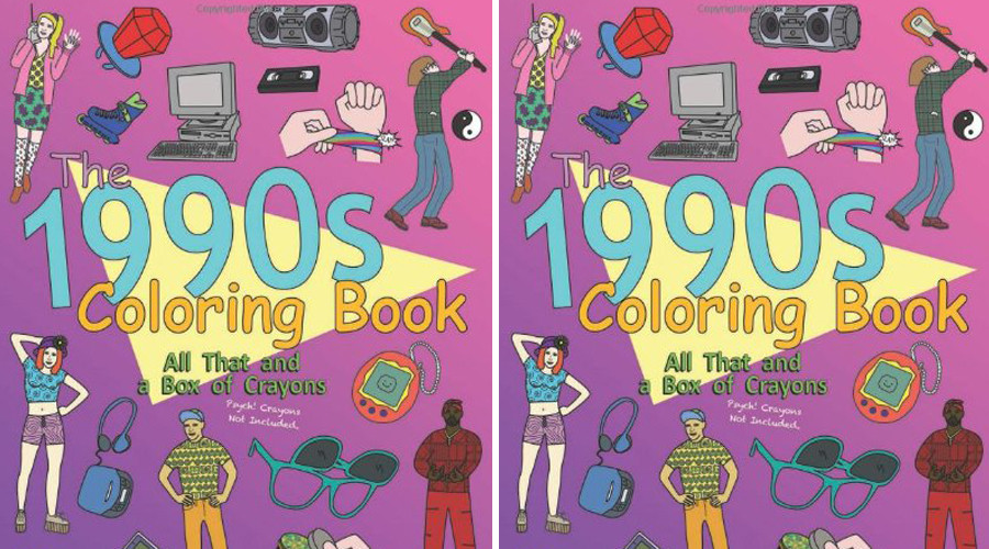 The 1990s Coloring Book 90s