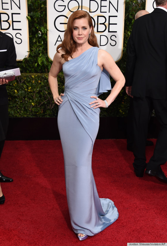 Amy Adams Channels Old Hollywood Glamour At The Golden