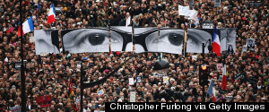 CHARLIE HEBDO DEMONSTRATORS