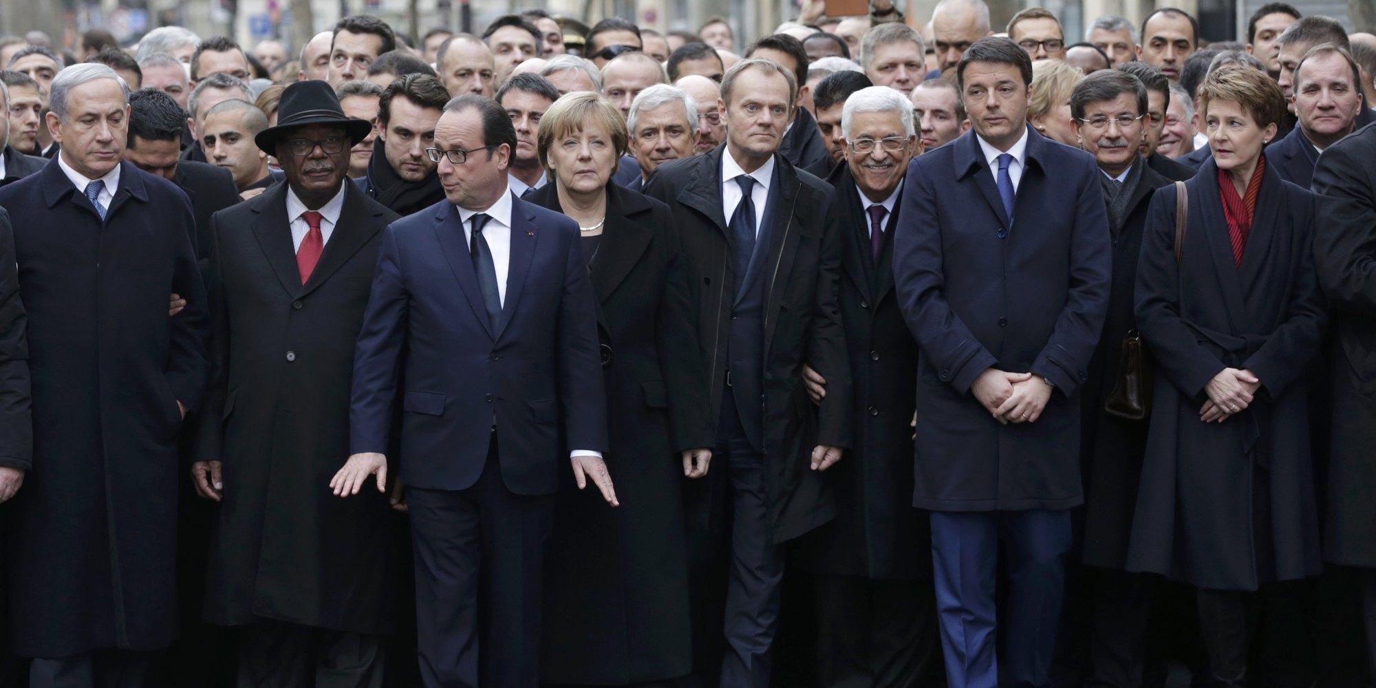 Attentati Parigi, critiche a Barack Obama per l'assenza alla ...