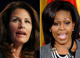 Michele Bachmann Michelle Obama