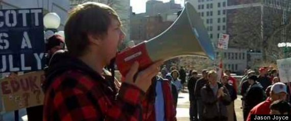 UW PROTESTS