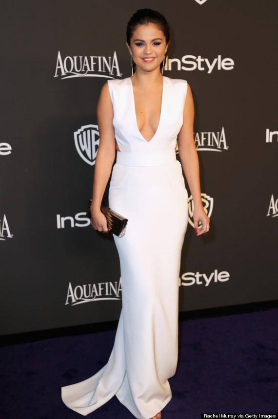 Selena Gomez Hits The Golden Globes After Parties In A