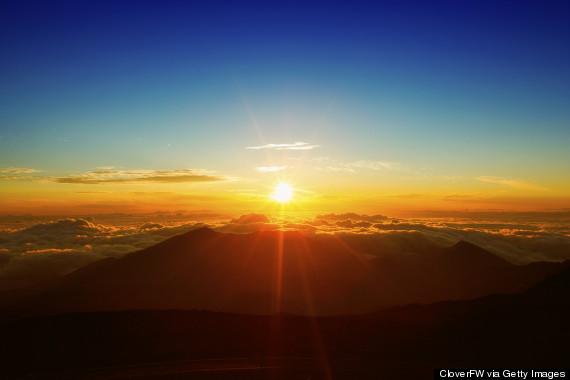 haleakala maui sunrise