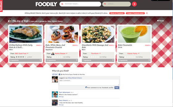 Foodily a social search engine just for food huffpost download forumfinder Gallery