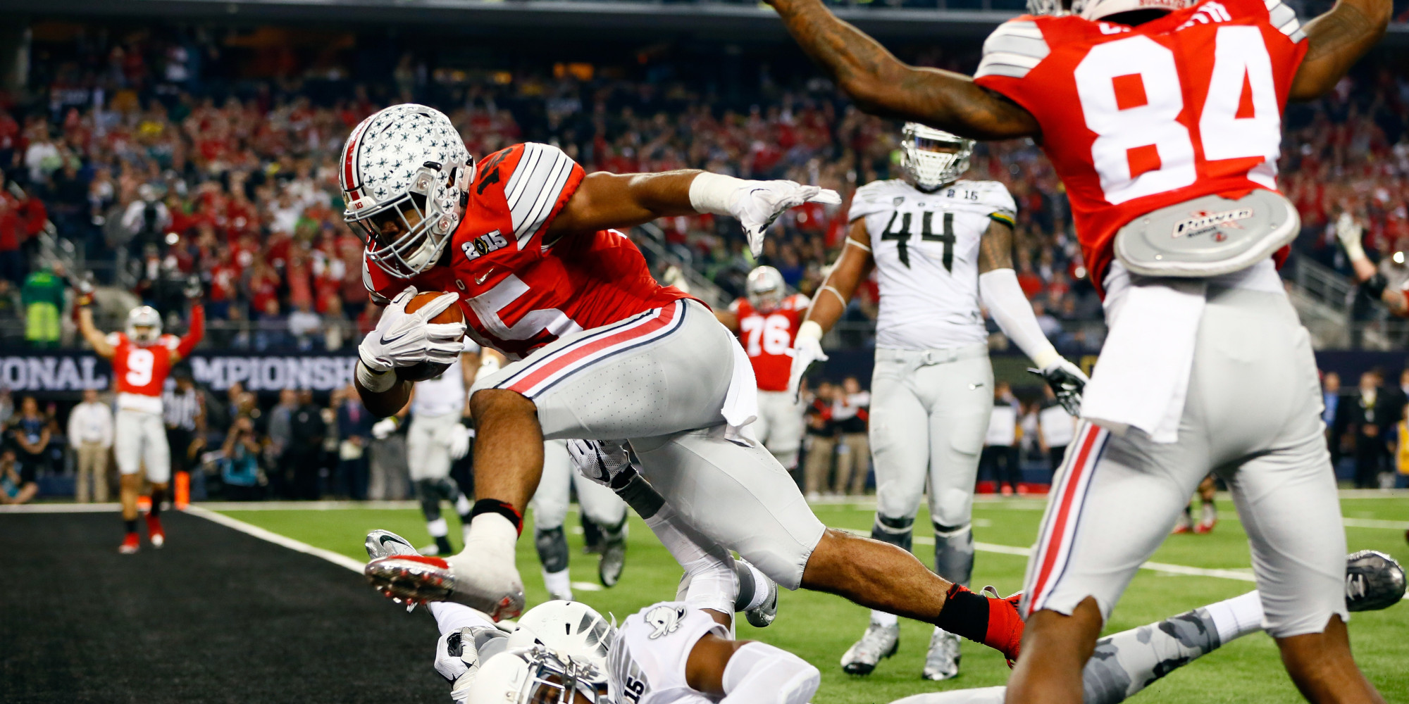 ohio state football spread college football national titles