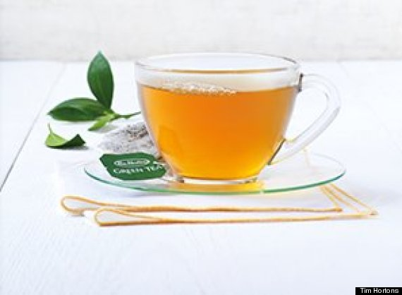 tim hortons green tea