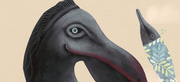 Artist Brings Extinct Animals Back To Life In Mesmerizing Drawings