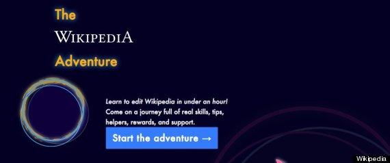 wikipedia adventure