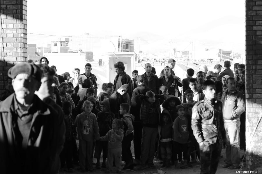 irak multitud