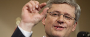 Stephen Harper Budget Surplus