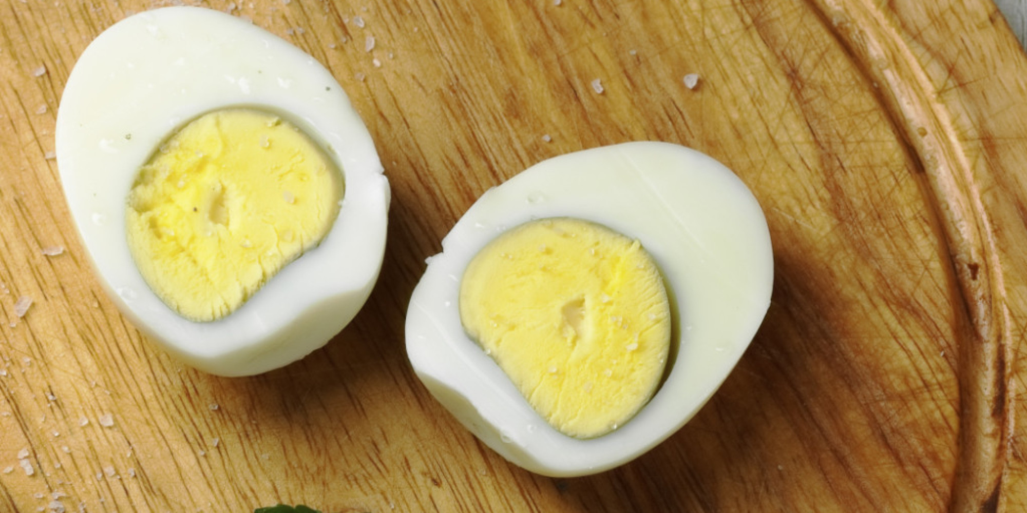 Why There's A Gross Green Ring Around The Yolk Of Your Hard Boiled Egg   Huffpost