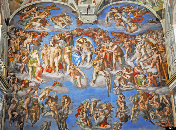 michelangelo the last judgement