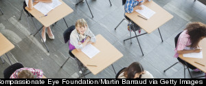 CLASSROOMS STUDENTS TAKING TEST