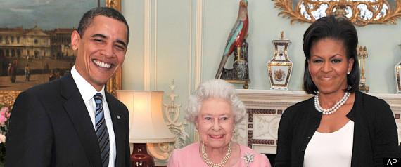 Obama England State Visit