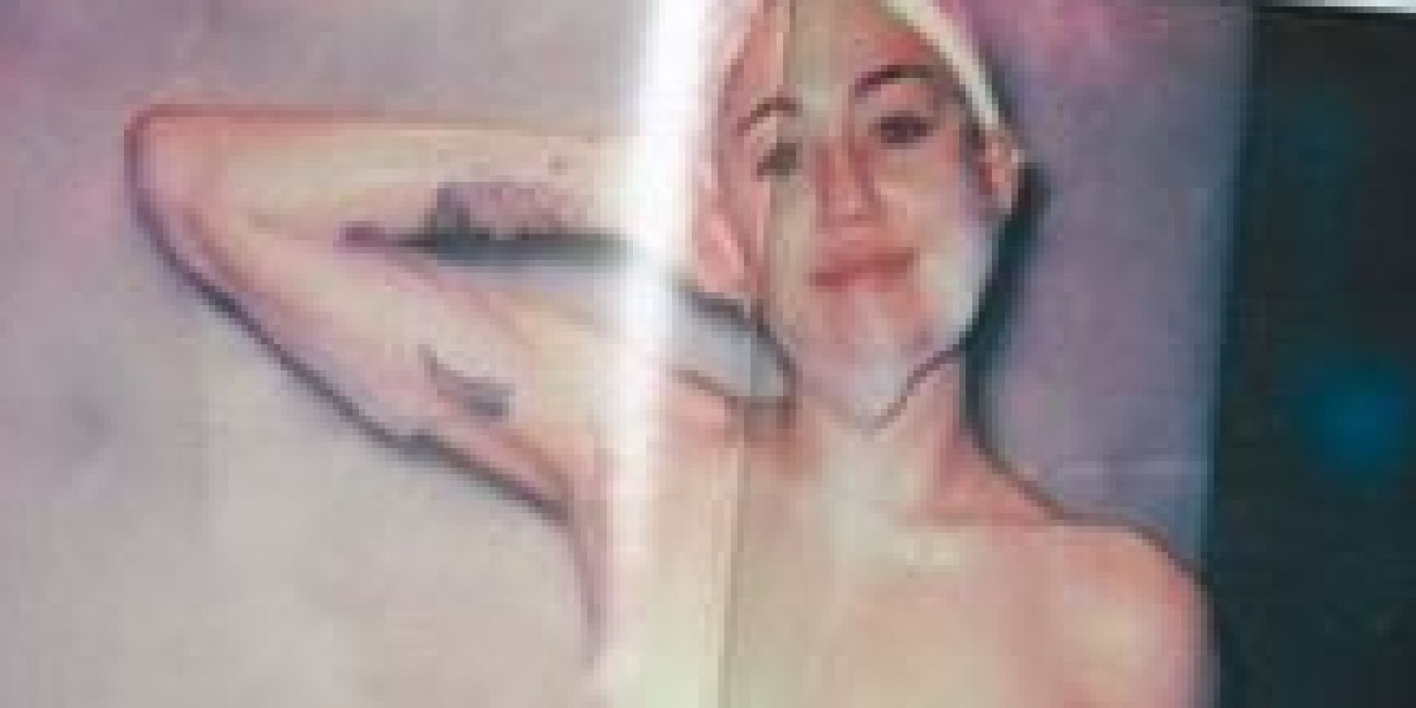Miley Cyrus, nue : Photos trash et suggestives Shooting