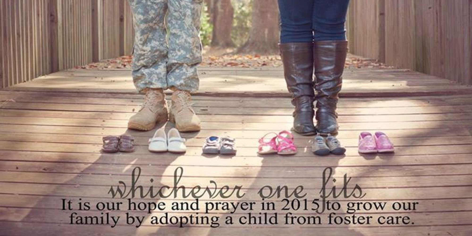 Hopeful Parentstobe Share Inspiring Card About Their Plan To Adopt A  Foster Child  Huffpost