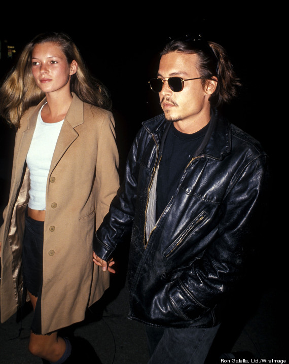 Kate Moss and Johnny Depp  Tumblr