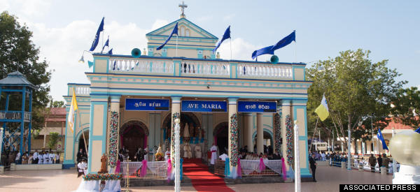 The Sri Lankan Shrine Pope Francis Visited Has An Amazing History
