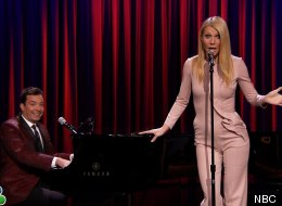 Gwyneth Paltrow And Jimmy Fallon Sing Hip-Hop Songs, Broadway Style