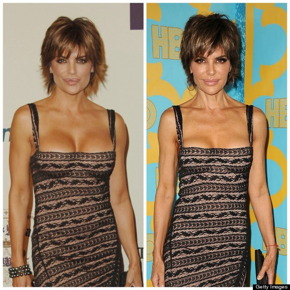 lisa rinna hasn t aged in 10 years and these photos are proof